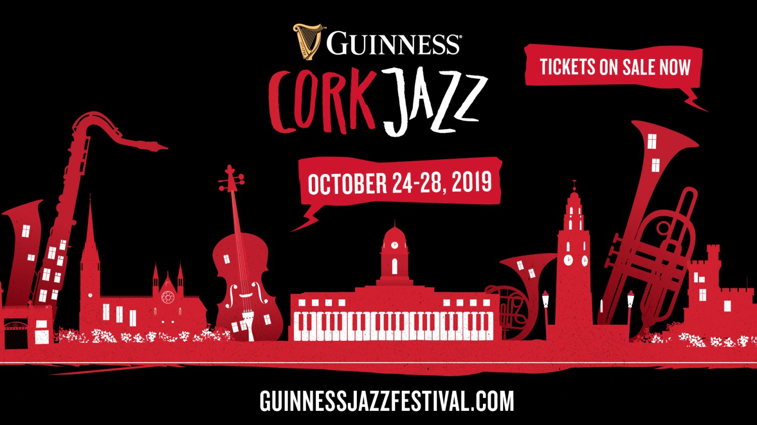Image result for GUINNESS CORK JAZZ FESTIVAL 2019 MICA PARIS