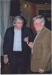 Henk Romijn Meijer met Bert foto Egbert de Bloeme
