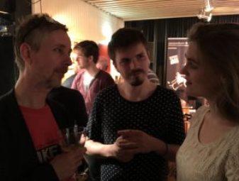 John Hondorp, Julian Bohn en Frederike Berendsen