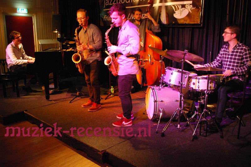 Echte jazz met bescheiden bandleider