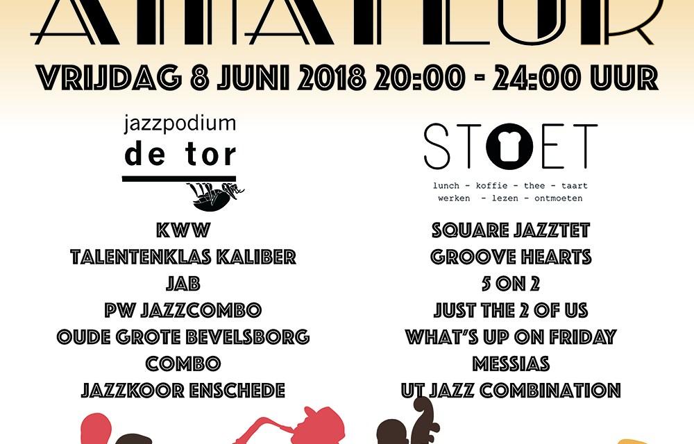 Vrijdag 8 juni: Dag van de Jazzamateur