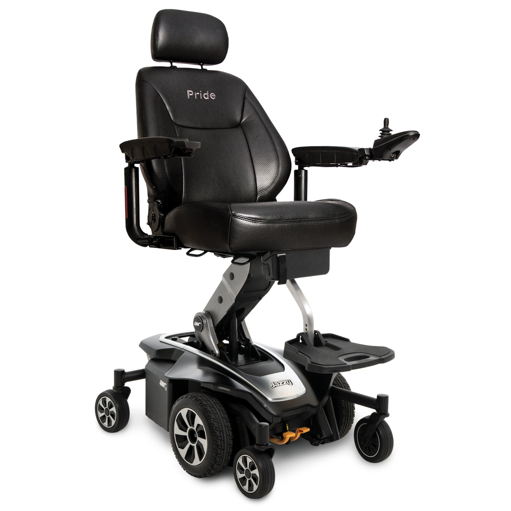 jazzy power chairs floortex chair mat electric wheelchairs from pride mobility air 2 0