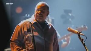 Funkiest Trombone Player: Fred Wesley. Foto: Screenshot arte.tv