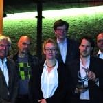 Nils Wogram erhält Albert Mangelsdorff-Preis 2013