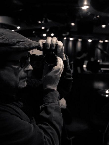 Fotograf Hufner. Massive Schräge im A-Trane. Foto: Hufner