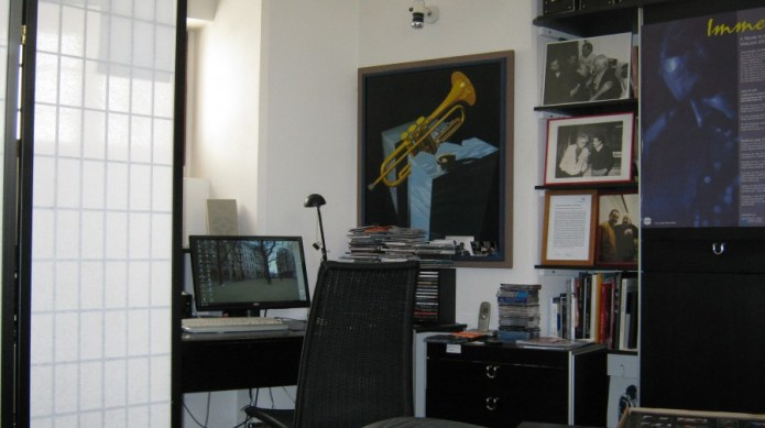 Das Büro von Manfred Rehm