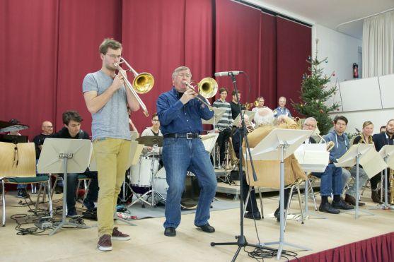 Peter Herbolzheimer European Jazz Academy. Foto: Peter Ortmann