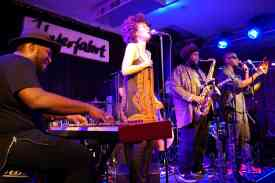 "Kamasi Washintons Band ""The Epic"". Foto: Thomas J. Krebs"