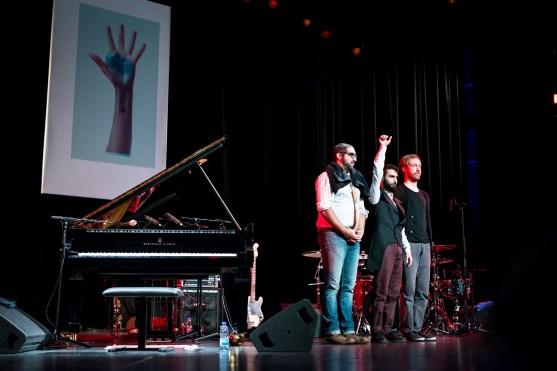 Tigran Hamasyan Trio (Jazzfest Berlin 2015). Foto: Petra Basche
