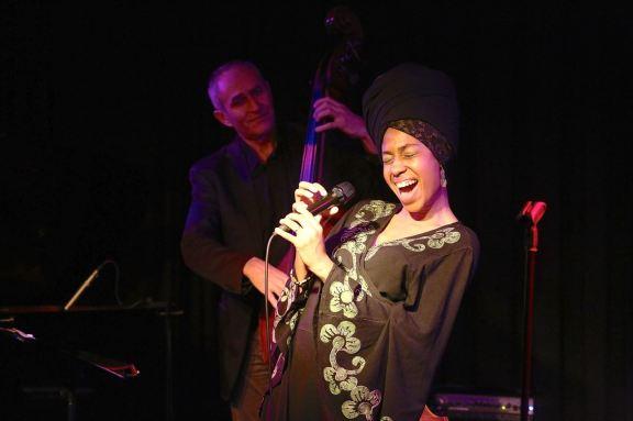 Jazzmeia Horn Quartet in der Münchner Unterfahrt