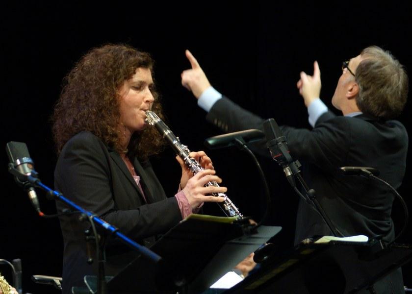 Annette Maye, Klarinette (Preisträgerin!), Dirigent: Stefan Pfeifer-Galilea (Preisträger)