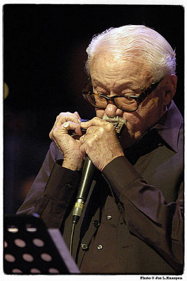 Toots Thielemans. Foto: German Jazz Trophy