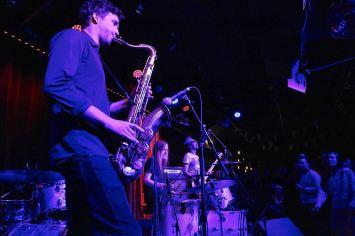Per Texas Johansson (sax), Fasching Jazz Club, Stockholm, Foto Ralf Dombrowski