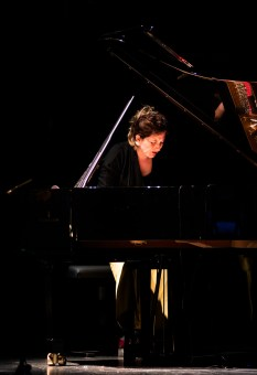 Jazzfest Berlin 2016 - Präludium: Eve Risser am Piano. Foto: Hufner