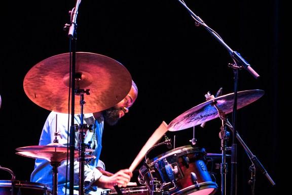 Marcus Gilmore drums. Foto: Petra Basche