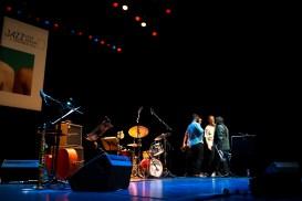 Wadada Leo Smith's Great Lakes Quartet. Foto: Petra Basche