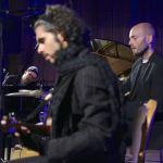 David Hellbock (p), , Raphael Preuschl (b-ukulele), Reinhold Schmölzer (dr), Südtirol Jazzfestival Alto Adige, Ritten, Weihrerhof, Foto Ralf Dombrowski