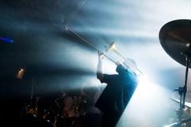 Spacig: Bandleader Sladek. Foto: Susanne van Loon