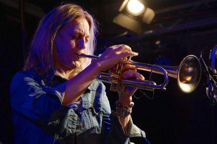 Ingrid Jensen (tp), Unterfahrt, Foto Ralf Dombrowski