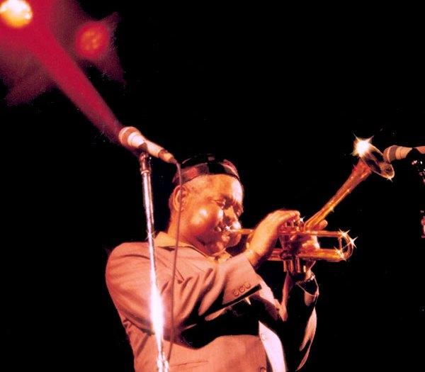 Dizzy Gillespie in a concert in 1988