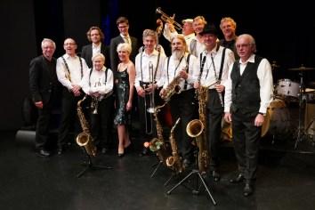 P1580524 - Heinz & his Orchestra mit Autoren - Thomas J. Krebs jazzphotoagency@web.de