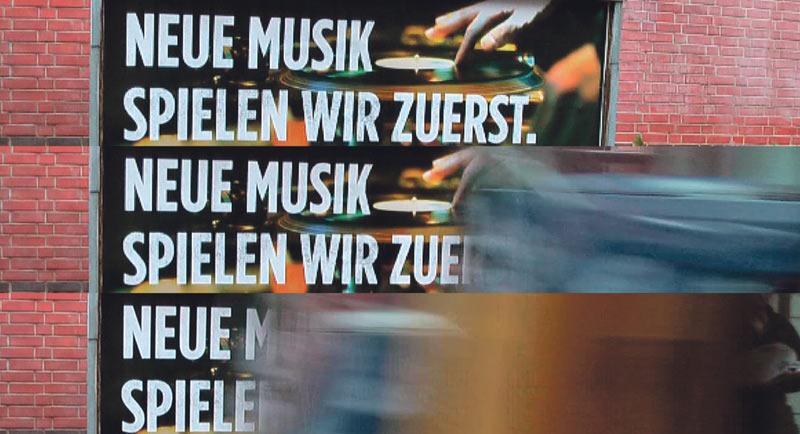 Neue Musik spielen wir zuerst. Foto: Hufner