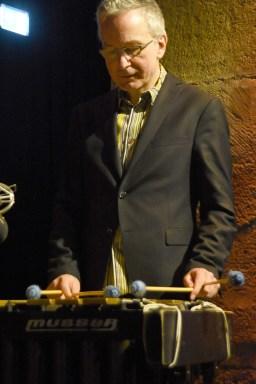 Vibraphonist Christopher Dell überzeugte mit seinem Solo. Foto: Michael Scheiner