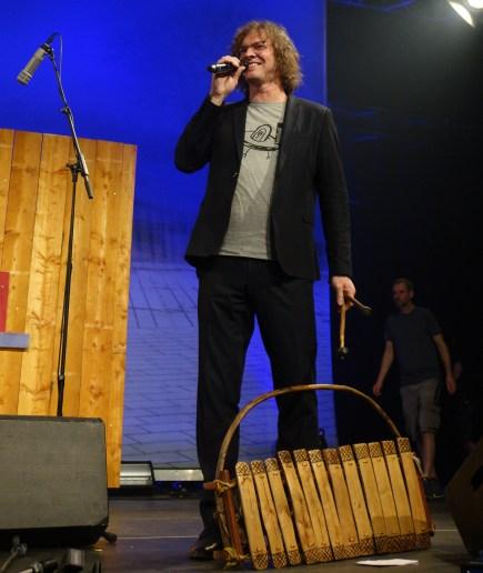 Der künstlerische Leiter des mœrs festival Tim Isfort. Foto: S. Pieper