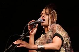 Gastvokalistin Tamara Tramell. Foto: Thomas J. Krebs
