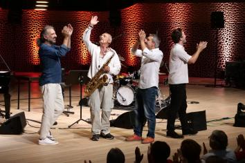 Stefano Bollani Quartett. Foto: Thomas J. Krebs