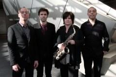Géraldine Laurent Quartett. Foto: T. J. Krebs