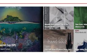 Jazz CDs im Schnelldurchlauf.