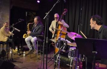 Jorge Pardo und das Kin García Trio. Foto: Michael Scheiner