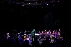 Jazzfest Berlin 2019. hr-Bigband feat. Joachim Kühn & Michel Portal: Melodic Ornette. © HuPe-kollektiv (PB)