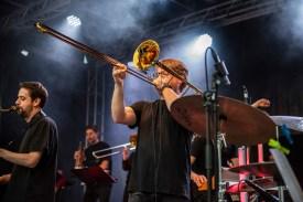 Bandleader Roman Sladek. Foto: Susanne van Loon