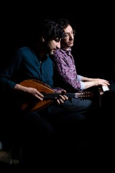Avi Avital & Omer Klein. Bild: Kimani Schumann