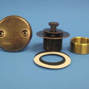 Two Hole Conversion Kit Lift-n-Turn Aged Bronze