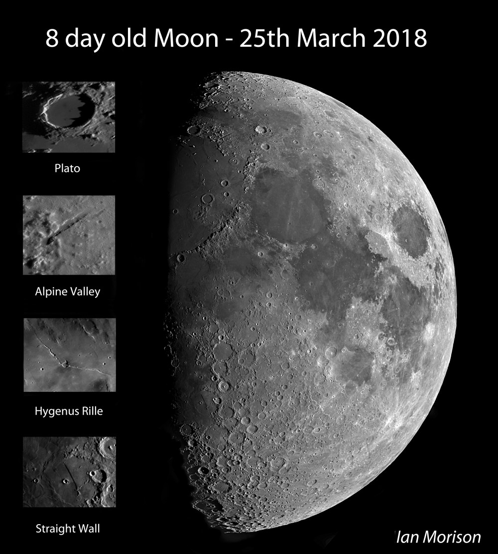 medium resolution of lunar image