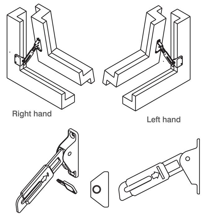 RES-LOK Face Fix Locking Restrictor