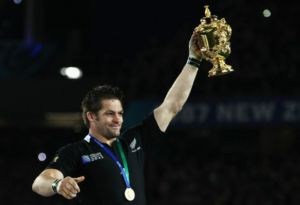Ritchie Mccaw's's team are on track to defend the World Cup in 2015