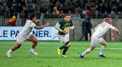 Brian Habana could never be regarded as a quota player in the Springbok team