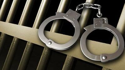 crime handcuffs bars
