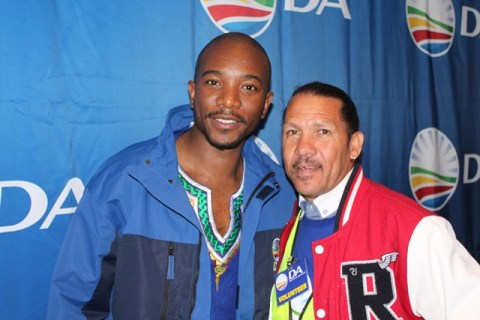 Mmusi Maimane at the DA provincial congress in Jeffreys Bay last year.