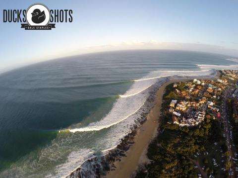 Jeffreys Bay. Photo: Duck Shots