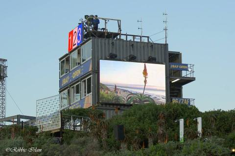 The tower at the JBay Open