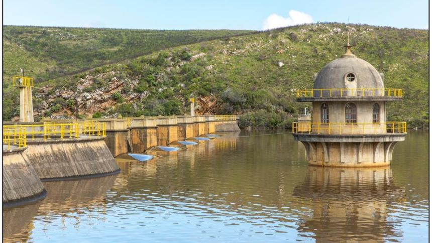 churchill dam, kouga dam levels