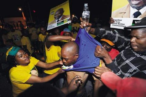 There is political intolerance in Tlokwe as well. Photo: SABC