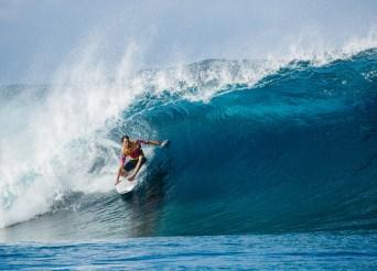Jordy Smith Tahiti Pro WSL Dunbar