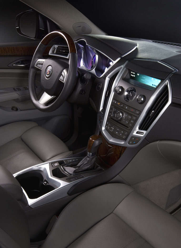 2010 Cadillac Srx Interior Picture Pic Image