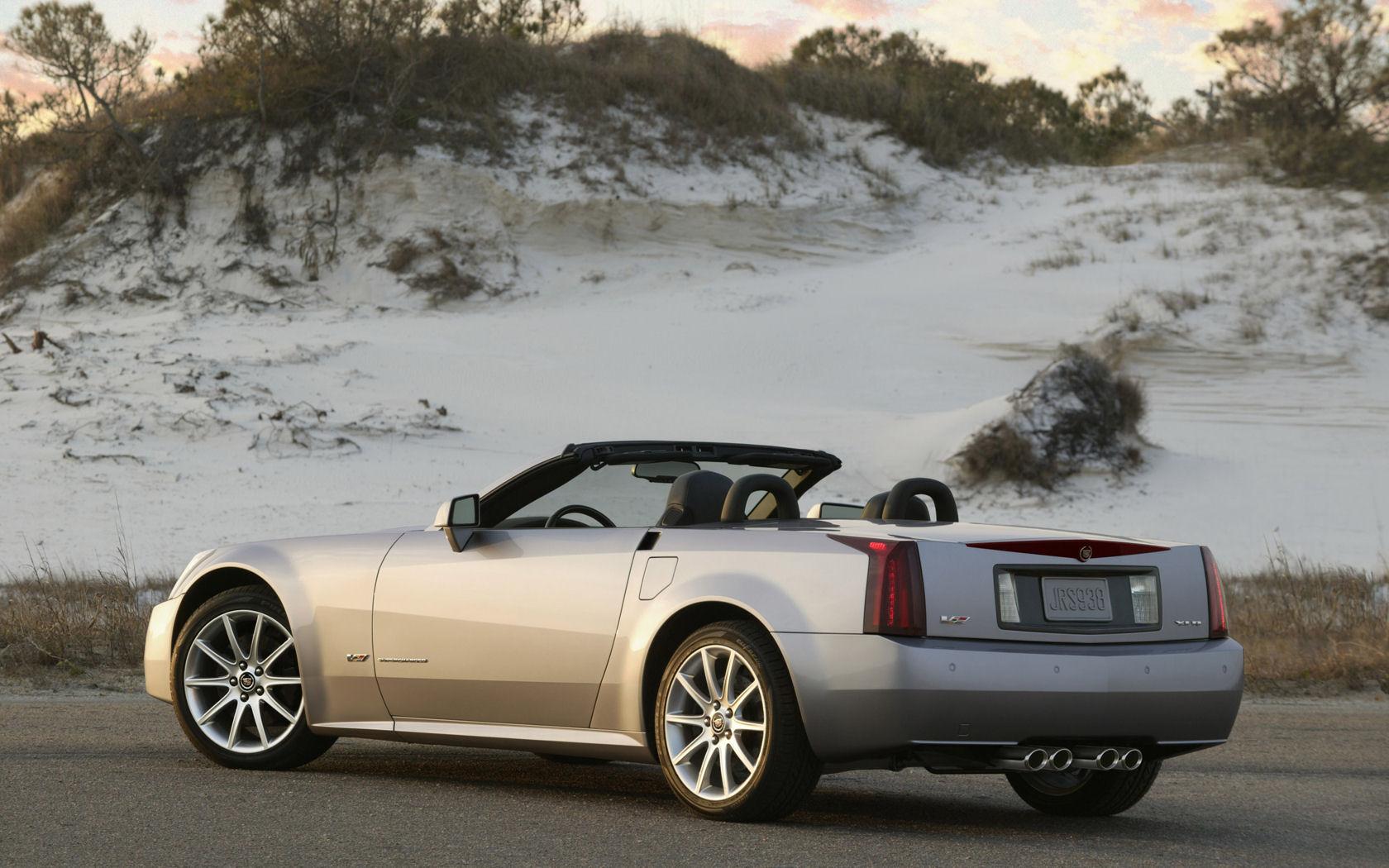 Cadillac Xlr Xlr V Supercharged Free Widescreen Wallpaper